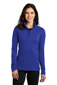 The North Face TNF Blue NF0A47FC  sweatshirts with company logo