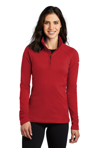 The North Face TNF Red NF0A47FC sweatshirts with company logo
