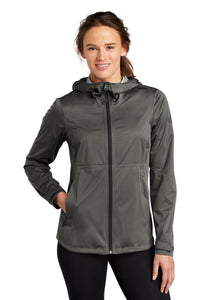 the north face ladies all-weather dryvent stretch jacket asphalt grey