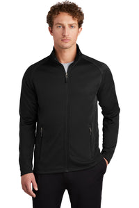 Eddie Bauer Black EB246 custom embroidered sweatshirts