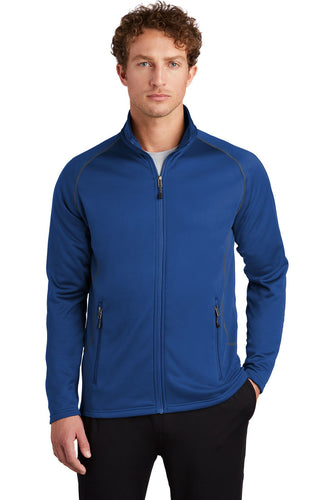 Eddie Bauer Cobalt Blue EB246 custom sweatshirts with logo