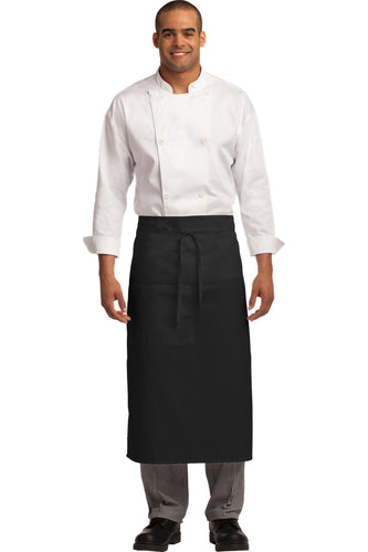 Port Authority Easy Care Full Bistro Apron with Stain Release