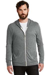 alternative apparel eco grey aa1970 sweatshirts with logos