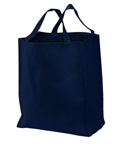 port authority_b100 _navy_company_logo_bags