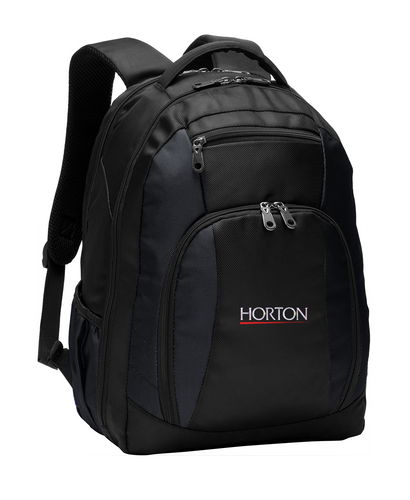 Port Authority Commuter Backpack BG205 Black [Horton Group]