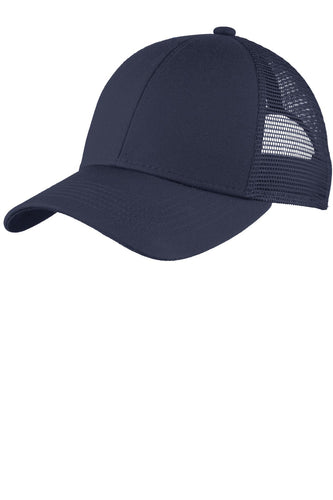 port authority adjustable mesh back cap true navy