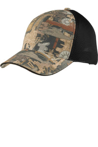 Port Authority Camouflage Cap with Air Mesh Back