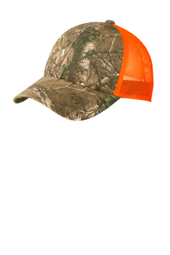 Port Authority Structured Camouflage Mesh Back Cap