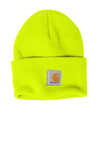 carhartt acrylic watch hat cta18 brite lime