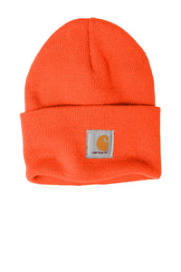 carhartt acrylic watch hat cta18 brite orange