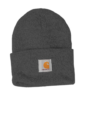 carhartt acrylic watch hat cta18 coal heather