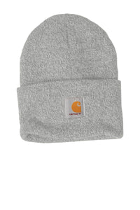 Company Logo Carhartt Acrylic Watch Hat CTA18 Heather Grey