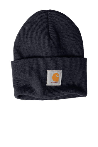 carhartt acrylic watch hat cta18 navy