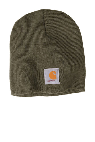 carhartt acrylic knit hat cta205 dark green