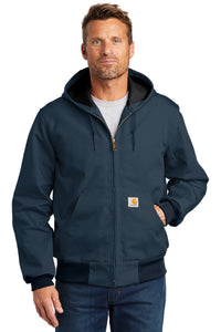 Carhartt Dark Navy CTJ131  team jackets embroidered