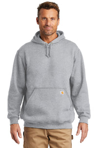 Carhartt Heather Grey CTK121 custom work sweatshirts