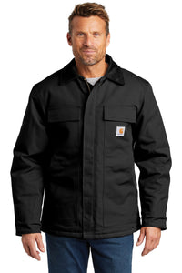 carhartt tall duck traditional coat cttc003 black