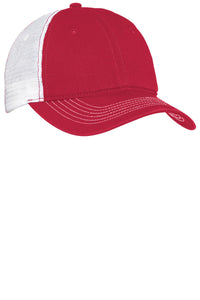 c2a4561dc39f53 District - Mesh Back Cap DT607 Red/ White