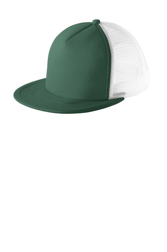 District - Flat Bill Snapback Trucker Cap