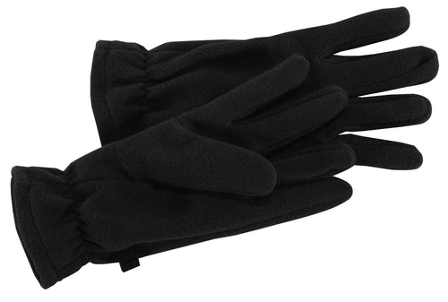 port authority fleece gloves gl01 black