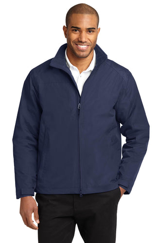 port authority true navy/true navy j354 business logo jackets