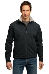 port authority black/ chrome tlj790 business jackets with logo