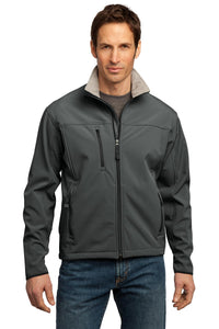 port authority smoke grey/ chrome tlj790 business jackets with logo