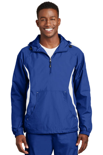 Sport-Tek True Royal/White JST63 promotional jackets company logo