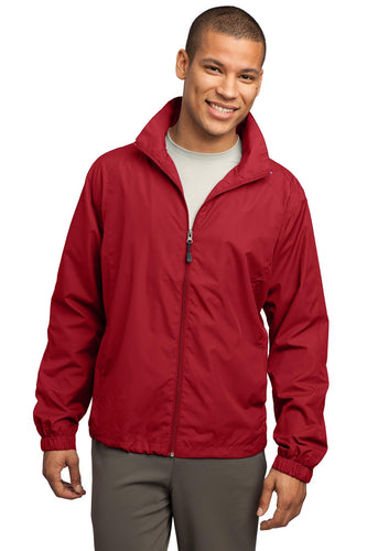 Sport-Tek True Red JST70  company embroidered jackets