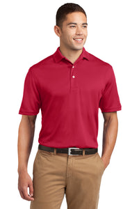 Sport-Tek Red TK469 quality polo shirts with company logo
