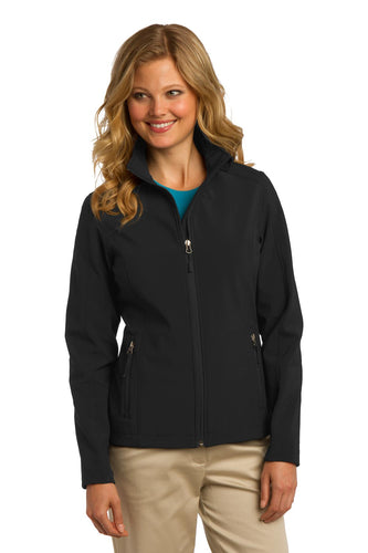 port authority black l317 company logo jackets