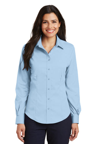 Port Authority Sky Blue L638 custom corporate clothing