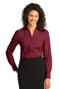 Port Authority Ladies Crosshatch Easy Care Shirt