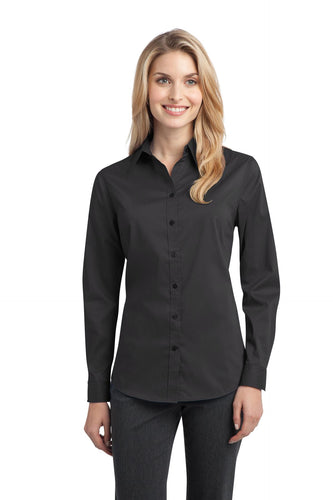 Port Authority Ladies Stretch Poplin Shirt