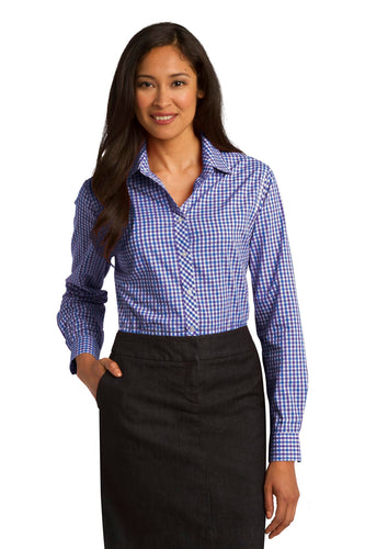 Port Authority Blue/ Purple L654 custom corporate clothing