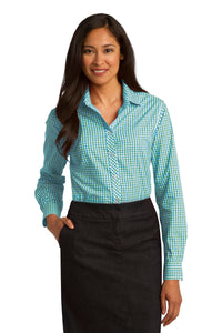 Port Authority Green/ Aqua L654 custom corporate clothing