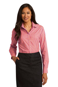 Port Authority Tangerine/ Pink L654 custom corporate clothing