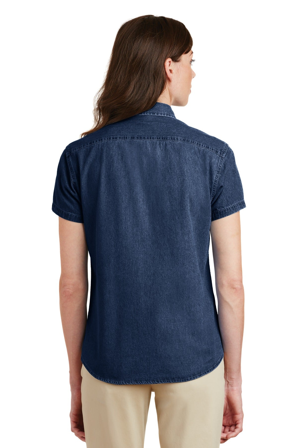 Women's Company Logo Shirts | Denim Button Downs – Lead Apparel