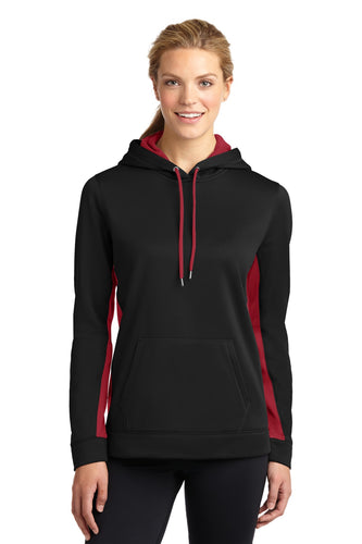 Sport-Tek Black/ Deep Red LST235  custom sweatshirts for business