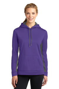 Sport-Tek Purple/ Dark Smoke Grey LST235  embroidered sweatshirts for business