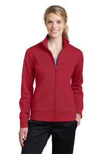 Sport-Tek Deep Red LST241  company jackets with logo