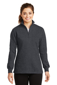 Sport-Tek Ladies 1/4-Zip Sweatshirt
