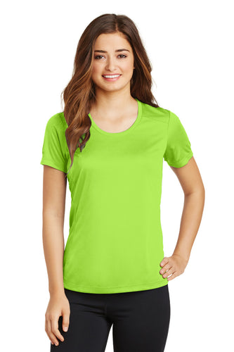 Sport-Tek Ladies PosiCharge Elevate Scoop Neck Tee