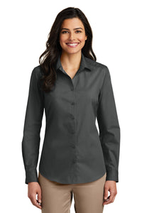 Port Authority Graphite LW100 company logo shirts