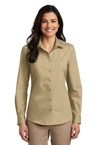 Port Authority Wheat LW100 custom work shirts