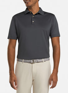 peter millar iron ME0EK01 with solid performance polo custom logo polo shirts