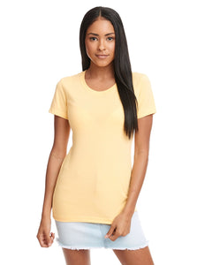 Next Level Ladies Ideal T N1510 Banana Cream