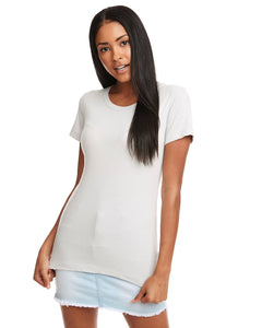 Next Level Ladies Ideal T N1510 Silver
