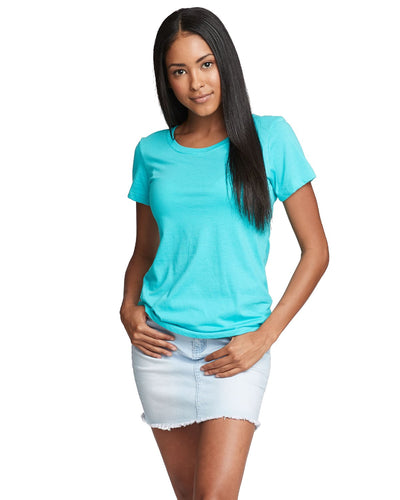 Next Level Ladies Ideal T N1510 Tahiti Blue