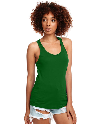 Next Level Ladies Ideal Racerback Tank N1533 Kelly Green